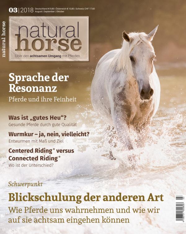 Natural Horse 20, Blickschulung der anderen Art